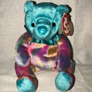 Ty December Happy Birthday Bear